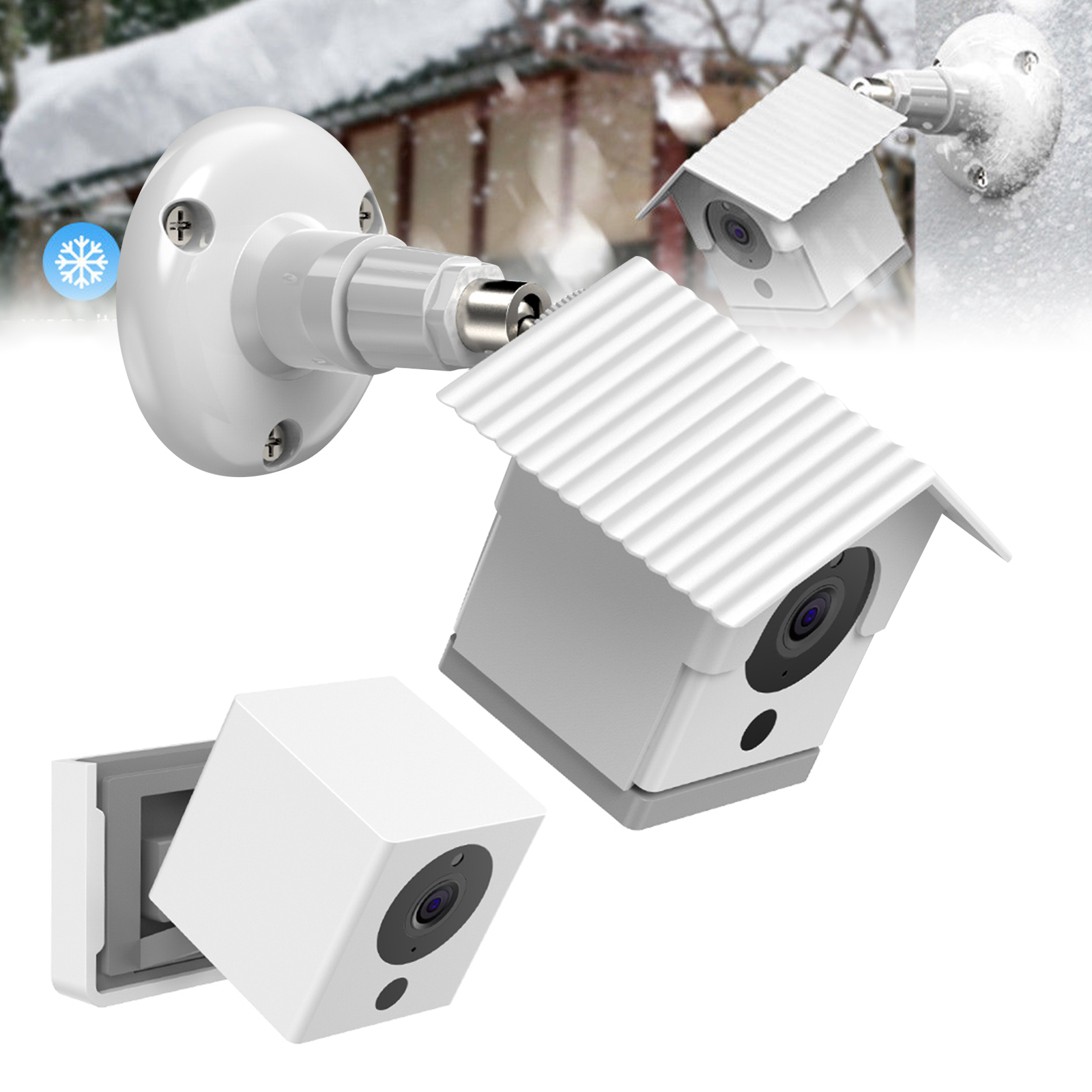 Details about Security Wall Mount Stand Holder for Wyze Cam 1080p HD Camera  Adjustable Bracket