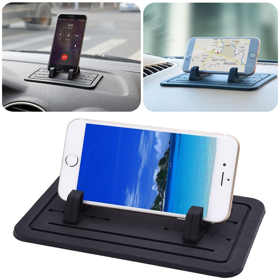 Sticky Silicone Pad Car Dashboard Mount Holder Cradle For Cell Phone Universal Ebay